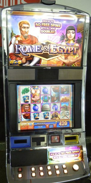 Rome & Egypt Williams Bluebird 1 Slot Machine by WMS for sale