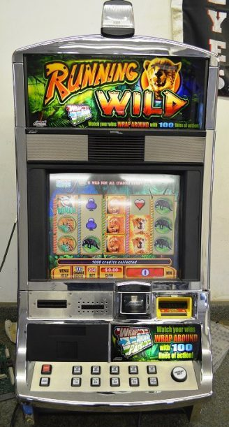 Running Wild Williams Bluebird 1 Slot Machine by WMS for sale