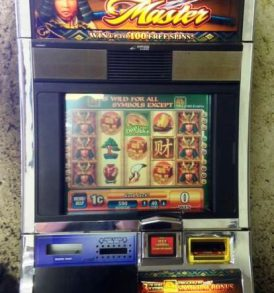 Samurai Master Williams Bluebird 1 Slot Machine by WMS for sale