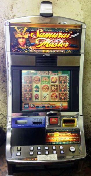 Samurai Master Williams Bluebird 1 Slot Machine by WMS for sale