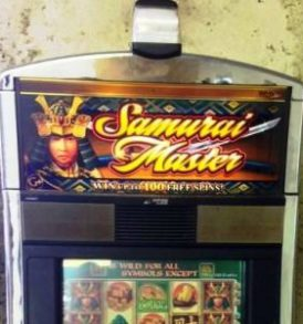 samurai master williams bluebird 1 slot machine sc