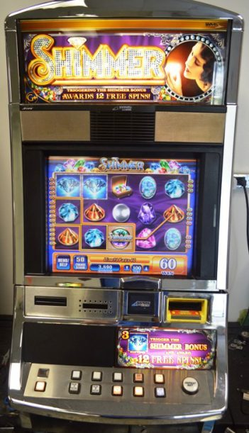 Shimmer Williams Bluebird 1 Slot Machine by WMS for sale