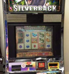 Silverback Williams Bluebird 1 Slot Machine by WMS for sale