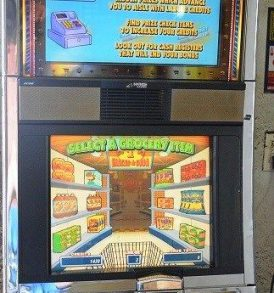 Supermarket Sweep Williams Bluebird 1 Slot Machine by WMS for sale