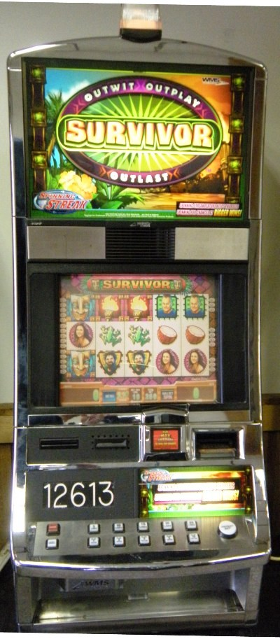 Survivor Williams Bluebird 1 Slot Machine by WMS for sale