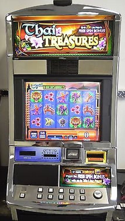 Thai Treasures Williams Bluebird 1 Slot Machine by WMS for sale