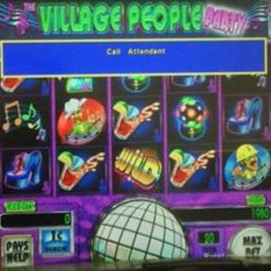 village-people-party-williams-bluebird-1-slot-machine--2