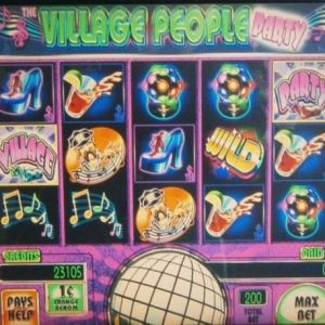 village-people-party-williams-bluebird-1-slot-machine--5
