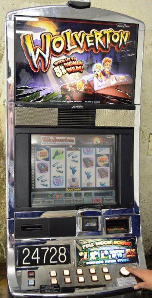 Wolverton Williams Bluebird 1 Slot Machine by WMS for sale