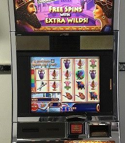 Xerxes Williams Bluebird 1 Slot Machine by WMS for sale