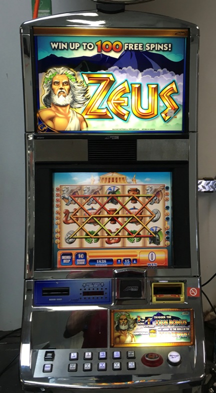 Zeus Williams Bluebird 1 Slot Machine 3