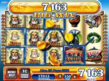Free Zeus Slot Machine Game