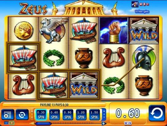 Free Zeus Slot Machines