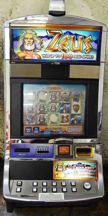 Zeus Williams Bluebird 1 Slot Machine 7
