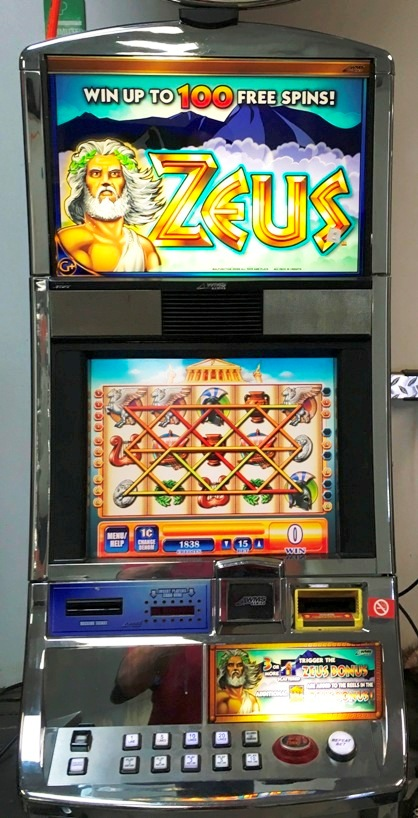 Zeus Williams Bluebird 1 Slot Machine by WMS for sale